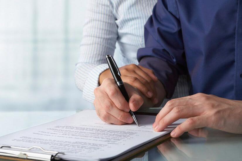 Подача заявления и документов на наследство