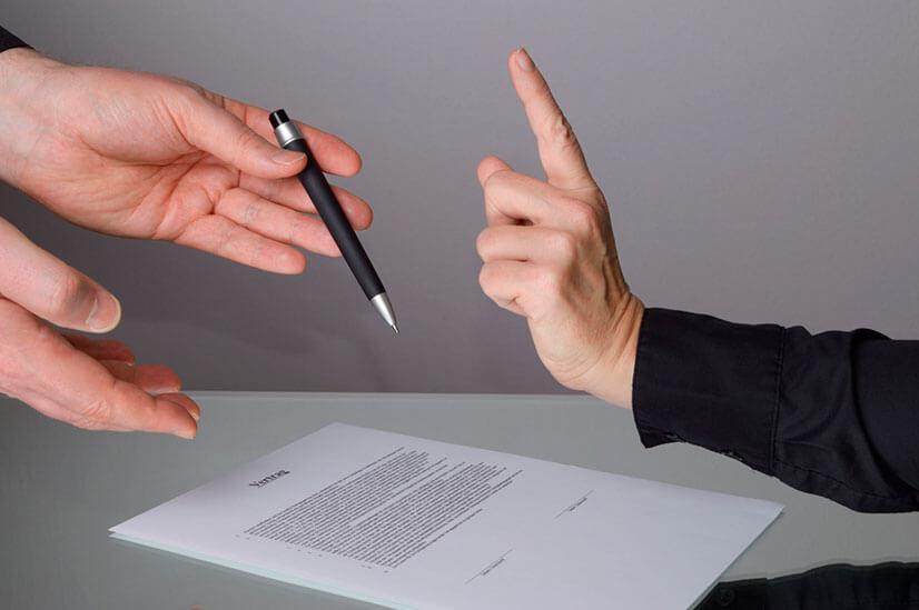 Как правильно написать отказную от наследства