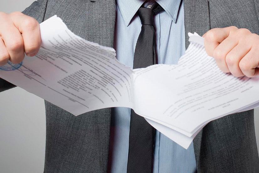 Процедура признания договора недействительным